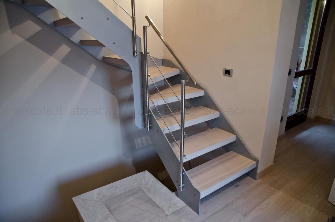Abs scale scala interna a fasce laterali portanti di - Ikea scale da interno ...