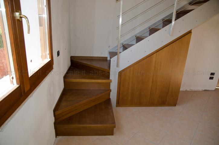 Abs scale scala interna a fasce laterali portanti con - Scale interne muratura ...