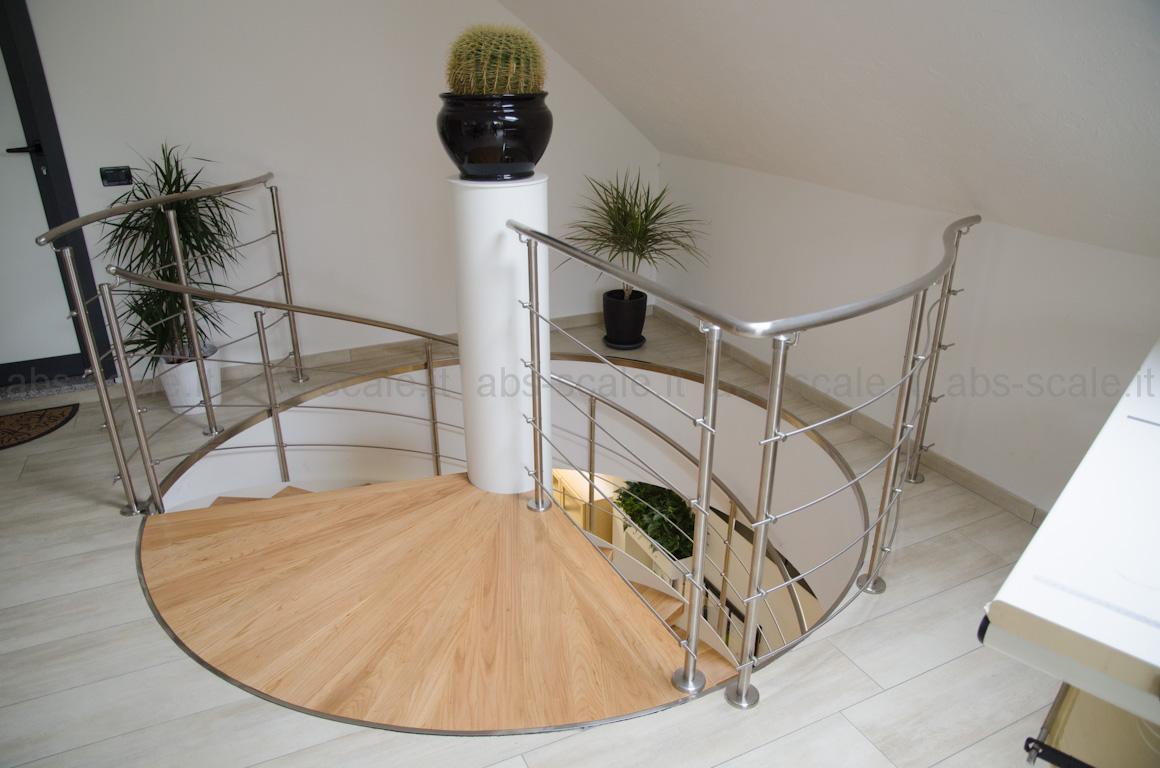 Scale a chiocciola dimensioni idee di design per la casa for Immagini di design per la casa