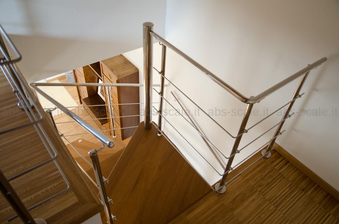 Casa moderna roma italy scale a chiocciola pianta quadrata - Scale a chiocciola foto ...