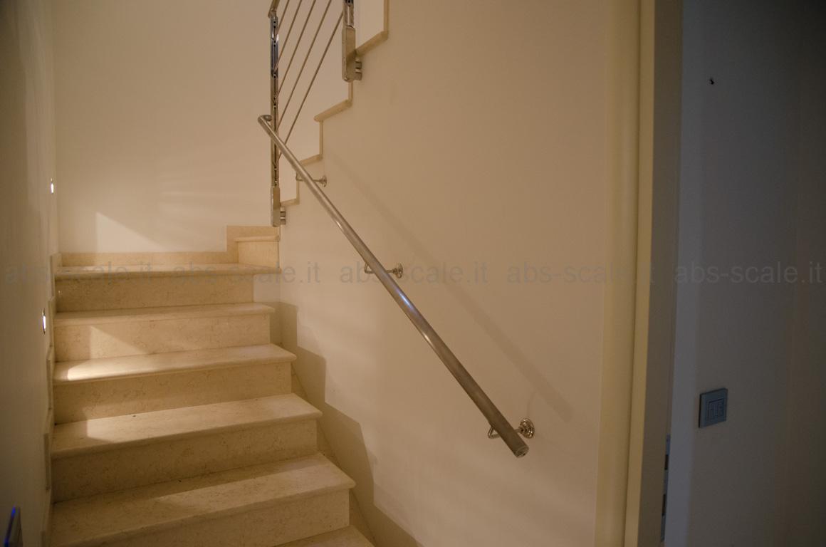 Passamano scale interne ringhiera in acciaio inox per - Corrimano scale esterne ...