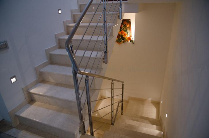 Abs scale ringhiera interna in acciaio inox - Corrimano scale interne ...